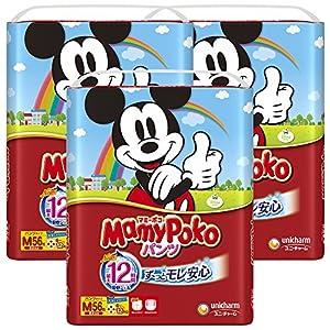 【Amazon.co.jp限定】マミーポコパンツ M(6~12kg) 168枚(56枚×3)【ケース販売】