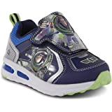 Disney Toddler Boys' Toy Story Buzz Lightyear Light-Up Sneaker Shoes