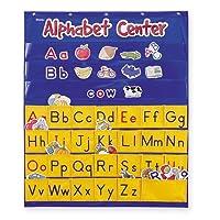 壁掛け ポケットチャート アルファベット Alphabet Center Pocket Chart LER2246