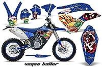 Husaberg FE FS 4506702009–2012MXダートバイクグラフィックキットステッカーデカールVegas Ballerブルー