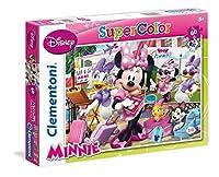 "Clementoni "" Minnie "" Supercolorパズル(60ピース)、13.19X 23.5CM"