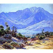 "Mount San Jacinto - by John Frost - Canvas Prints 30""x26"" Unframed"