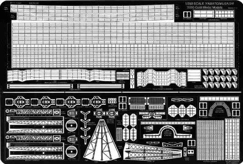 1/250 日本海軍 戦艦 大和用 (GM2501)