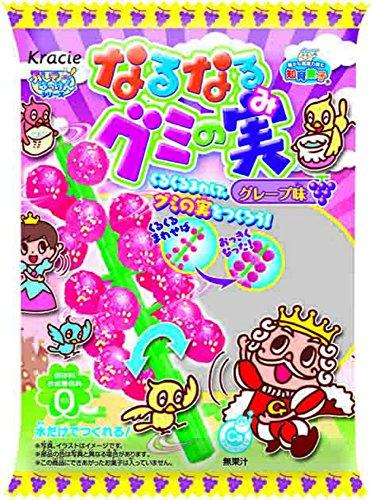 なるなるグミの実 グレープ味 10個入(食玩・知育菓子)