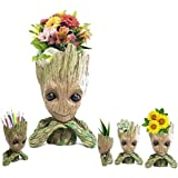 Aotuman Marvel Action Figure, Flower Vase Perfect for Tiny Succulent Plants Pen Holder Desk Container Candy Dish, Model Kit,