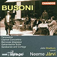 Busoni: Orchestral Suite No.2 by Neeme Jarvi (2002-08-02)