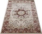 輸入絨毯 50万ノット 高級 ウィルトン織り grant-ro-160230 (SUL) 約160×230cm ローズ トルコ製 輸入カーペット ラグ じゅうたん ピンク