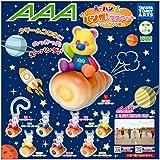 AAA え~パンダ マスコット クリームコロネ 全7種 + レア1種セット
