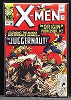 X - Men # 12コミックブックカバー冷蔵庫マグネット。ジャガーノート