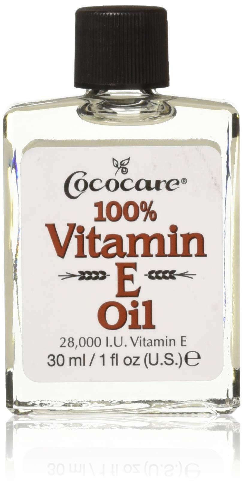 CocoCare 100% Vitamin E Oil, 1 oz 28000IU