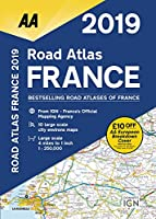 Aa Publishing 2019 Road Atlas France (Aa Road Atlas France)
