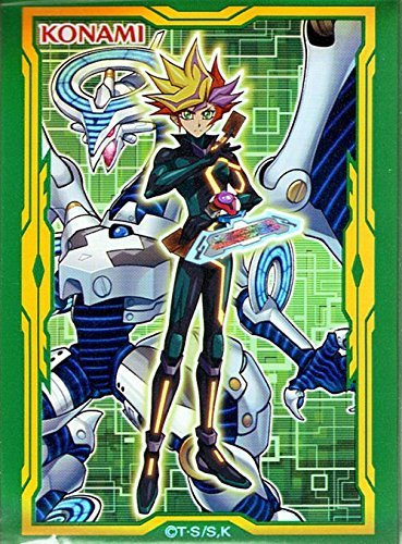 遊戯王/60枚入り(Playmaker・緑)スペシャルプロテクター/LINK VRAINS BOX