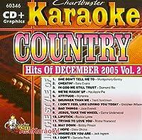 Karaoke: Country Hits of December 2005 - 2