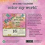 LANG – 2018年ボックス「塗り絵」カレンダー – Debi Hronによるアートワーク – 12ヶ月 5.25インチ x 5.25インチ 画像