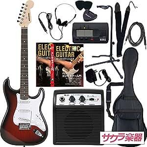 SELDER セルダー エレキギター ストラトキャスタータイプ サクラ楽器オリジナル ST-16/RDS リミテッドセットプラス