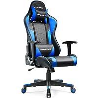 GTXMAN ゲーミングチェア リクライニング オフィスチェア 安定の肘掛付き ゲーム用 椅子 一年無償部品交換保証…