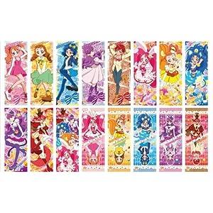 キラキラ☆プリキュア アラモード キャラポスコレクション BOX商品 1BOX = 8箱入り 1箱 = ポスター2枚入り、全16種類