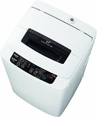 ハイアールジャパンセールス 4.2kg 全自動洗濯機 ブラック ■型番:JW-K42K(K)