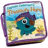 ZhenyuブックQuietブック布ベビーソフトブックCaptain Calamari 's Treasure Hunt布ブック幼児教育おもちゃfor Boys and Girls