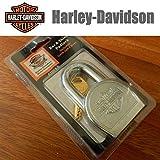 HARLEY-DAVIDSON(ハーレーダビッドソン) 純正 パド ロック 南京錠 U字 ロック キー 2本付属