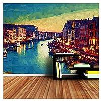 市壁画-絵画壁紙3dの壁紙リビングルームの寝室のための家の装飾の壁紙ネイチャーロール200cm(W)x140cm(H)