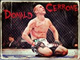 Donald Cerrone Blood MMA Mixed Martial Artist Awesome絵画レトロヴィンテージアートポスター印刷 40x30cm (around 16x12 inches)