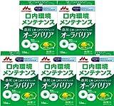 【5個セット】オーラバリア レモンミント味 18個入 口臭・口内ケアタブレット