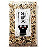 雑穀米 [ 黒米 赤米 緑米 発芽玄米 ひえ きび あわ 押麦 ] 熊本産 1000g