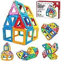 Jasonwell マグネットブロック 42pcs 磁石ブロック 磁気おもちゃ マグネットおもちゃ 知育玩具 日本語バッケージ 磁石玩具 積み木 ブロック おもちゃ キーズ 女の子 男の子 子供向けのプレゼント