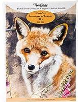 Pollyanna Pickering Sketchbook A4 Die-Cut Decoupage Card Kit-Ch.5 British Wildlife Fox