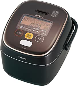 象印 炊飯器 圧力IH式 1升炊き ブラウン NP-YB18-TA