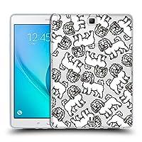 Head Case Designs コトン・ド・テュレアール ドッグブリード・パターン 11 ソフトジェルケース Samsung Galaxy Tab A 9.7