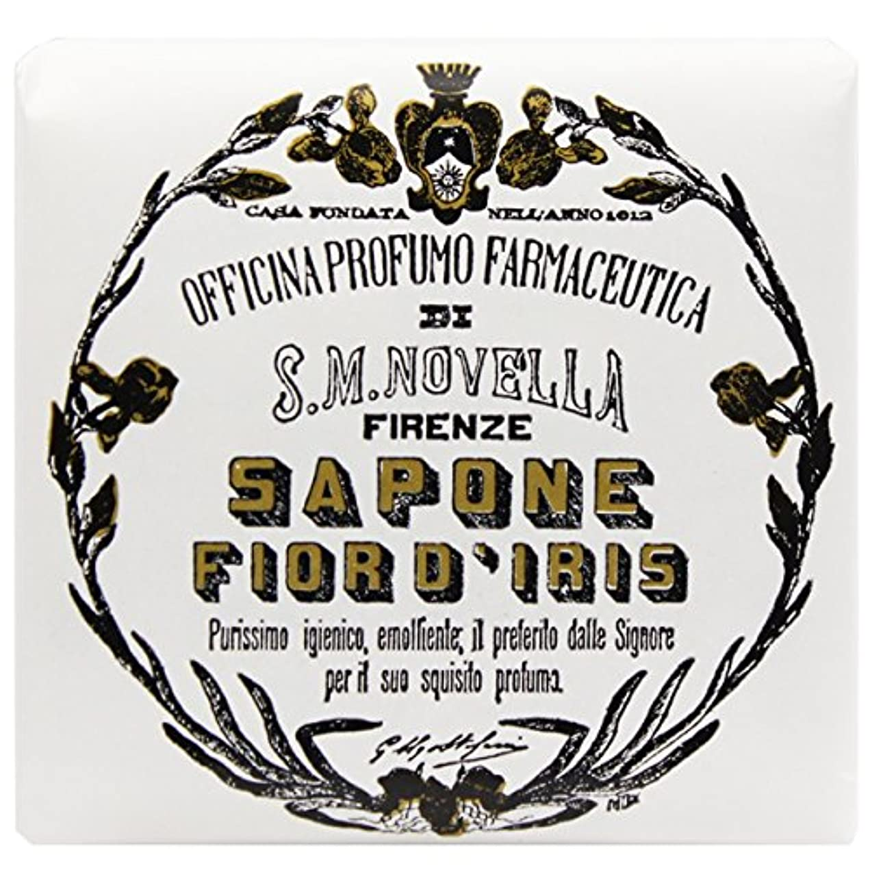 ブレイズ動員する理容室【サンタマリアノヴェッラ】 フィオールディリス ソープ 100g (5591) Fior d'Iris [並行輸入品]