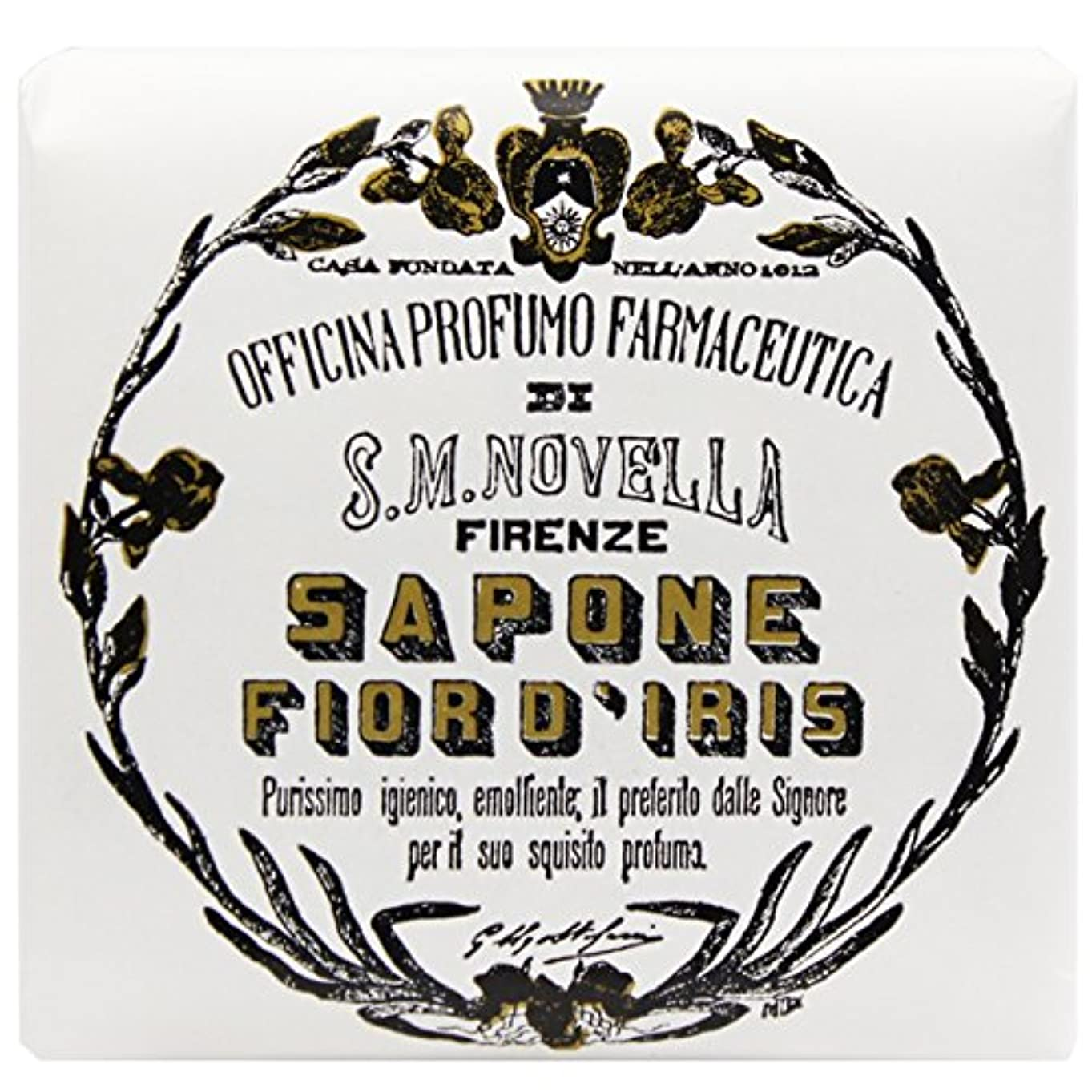 ピアノ昼寝類人猿【サンタマリアノヴェッラ】 フィオールディリス ソープ 100g (5591) Fior d'Iris [並行輸入品]