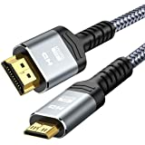 Snowkids Mini HDMI ケーブル 1.8m ミニ hdmi 双方向 4K 60Hz (タイプAオス-ミニタイプCオス)