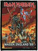 ( アイアンメイデン ) IRON MAIDEN / MAIDEN ENGLAND 88 PATCH オフィシャル 刺繍ワッペン