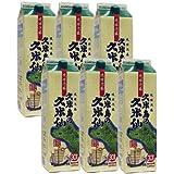 久米島の久米仙 琉球泡盛 1800mlパック×6本