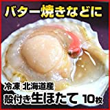 ワイエスフーズ 冷凍 生 ホタテ 10枚 殻付き 北海道産 業務用