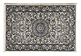 ベルギー産 毛100% 60×90cm クラッシック柄ウィルトン織マット ナディール 1645-528