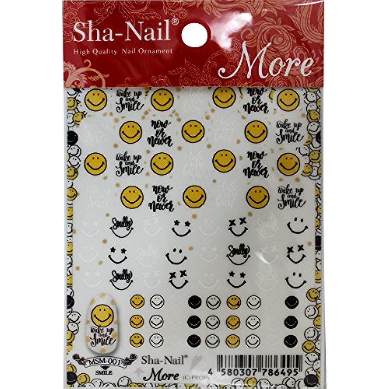 Sha-Nail More ネイルシール スマイル MSM-001