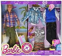 Barbie Pink Passport Fashion Set - Blonde