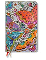 Flutterbyes Maxi Week-At-A-Time 18 Month Planner 2018-19 by Paperblanks [並行輸入品]