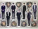 防弾少年団 (BTS)/ミニチュア 等身大パネル(卓上スタンドPOP/ミニパネル)セット - Standing Paper Doll(K-POP/韓国製)