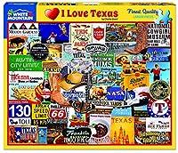 ホワイトMountainパズルI Love Texasジグソーパズル