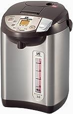 タイガー 魔法瓶 電気 ポット 3L ブラウン 蒸気レス 節電 VE 保温 とく子さん PIB-A300-T Tiger