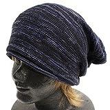 ブラック×ネイビー Mサイズ (リッチマスター)RichMaster オーガニックコットン 抗がん剤 医療用帽子 大きいサイズ あったかい ニット帽 ニットキャップ ワッチキャップ キャスケット 男女兼用 レディース メンズ 大きい コットン ニットワッチ帽 ニット帽子 無地 ビーニー帽子 つば付き 小顔 ゆったり 防寒 おしゃれ かわいい 人気 白 黒 bp-0026L-33-3