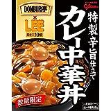 【Amazon.co.jp限定】 江崎グリコ DONBURI亭 カレー中華丼 LEEコラボ 210g ×10個
