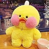 MOCOST Lalafanfan Plush Toy Cafe Mimi Yellow Duck Plush Doll Toy Duck Gift, 30 cm / 12 inch - Yellow Duck