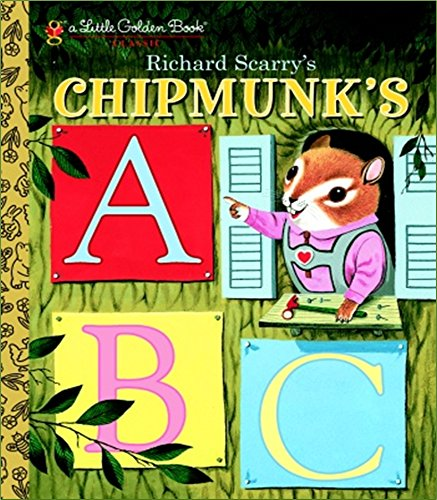 Richard Scarry's Chipmunk's ABC (Little Golden Book)の詳細を見る