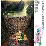 Ingooood- Jigsaw Puzzles 1000 Pieces for Adults- Fantasy Series- Collection Pavilion_IG-0292 Entertainment Toys for Adult Spe